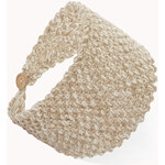 Forever 21 Marled Open-Knit Headband