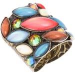 Konplott Ring mehrfarbig/antikmessingfarben