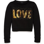 Forever 21 Glam Love Cropped Sweatshirt (Kids)