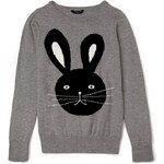 Forever 21 Quirky Bunny Sweater