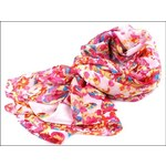 Barevný šátek s motýlky
