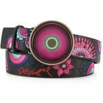 Pásek Desigual s fialovým kolečkem