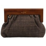 Menší kabelka nice things s dřevěným rámem