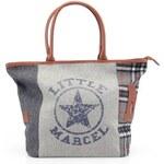 Šedá velká kabelka Little Marcel