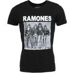 Černé pánské triko Eleven Paris Ramones