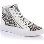 Guess Delice Metallic Animalier Sneaker