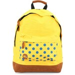 Žlutý batoh Mi-Pac Polkadot s puntíky