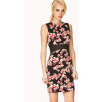 FOREVER21 Forget-Me-Not Floral Dress