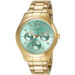 Multifunktionsuhr, »Tracy Multi Gold Mint, ES106702008«, Esprit
