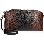 Burberry Shoes & Accessories Leather Nubby Clutch