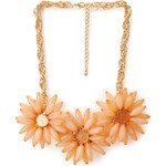 FOREVER21 Sunburst Faux Stone Necklace