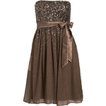 Young Couture by BARBARA SCHWARZER Bandeau-Kleid beige