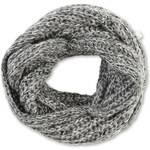 s.Oliver Oversized knitted snood with lurex