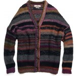 Replay Wool/acrylic cardigan with dropped shoulders.