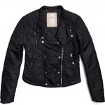 Replay Nylon twill zip-cuff jacket with four pockets plus extrastrength shoulders.