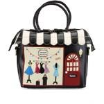 Černá kabelka Vendula London s módním butikem