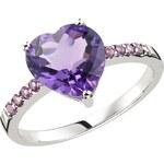 Stříbrný prsten se Zirkony Ag925 Manon