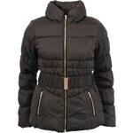Černá bunda Vero Moda Berry s vysokým límcem