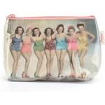 Retro pouzdro na zip Catseye London Bathing Belles
