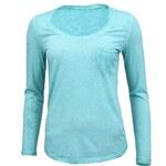 Jednoduché tričko YAYA v tyrkysové barvě