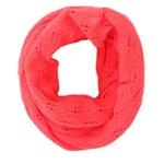 Červená dámská dutá šála Vans