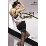 Samodržící punčochy Gatta Matilde, černá