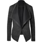 Donna Karan New York Draped Front Knit Blazer