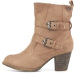 Kotníčkové boty Refresh na podpatku