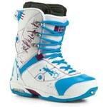 Pánské boty na snowboard Northwave Legend white/blu/vio 42