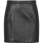 Topshop PU Stitch Mini Skirt