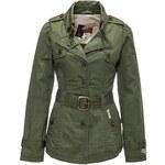 Khujo zelený mezisezónní krátký kabát Tampa S zelená