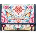 Barevná peněženka Catalina Estrada