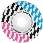 kolečka SPEED DEMONS - Super Fly Checks (WHT)