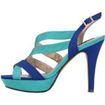 Tyrkysovo-modré sandálky Victoria Delef