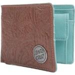 peněženka SANTA CRUZ - Weed Leaf Mahogany (MAHOGANY)
