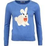 Modrý svetr s králíčkem Louche Hazy