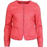 Prošívaná bunda YAYA v korálové barvě
