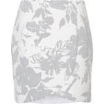 Topshop Printed Wrap Skirt