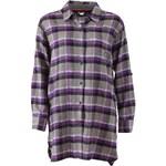 Fialovošedá noční košile DKNY