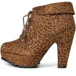Leopardí kotníčkové boty Blowfish Vance