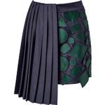 Mary Katrantzou Wool Jumbar Mini-Skirt