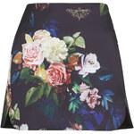 Topshop Blur Rose Pelmet Skirt
