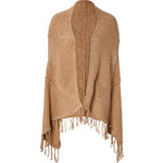 Ella Moss Cotton-Silk Fringed Cape