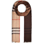 Burberry Shoes & Accessories Wool-Silk Tartan Scarf