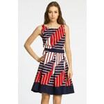 Click Fashion - Šaty Luci - tmavomodrá, 36