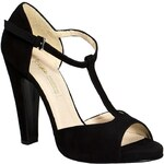 Buffalo - Sandály na podpatku Ante01 - černá, 40