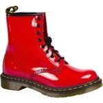 Dr Martens - Vysoké boty1460 W01 - červená, 36