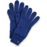Esprit plain touch screen knit gloves