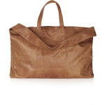 Topshop Tan Slouch Luggage Bag