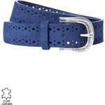 Promod Leather punch-holed belt